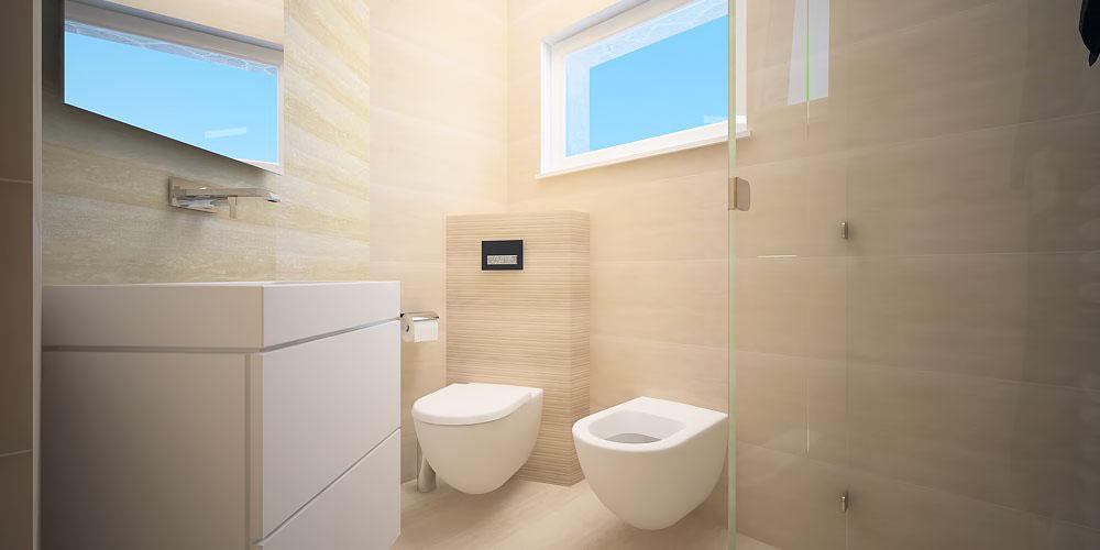 Adaptacija stana Mljet kupaonica