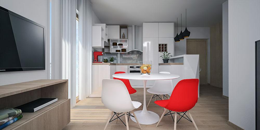 Adaptacija stana kuhinja